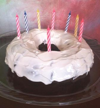 Birthday Cake recipe page