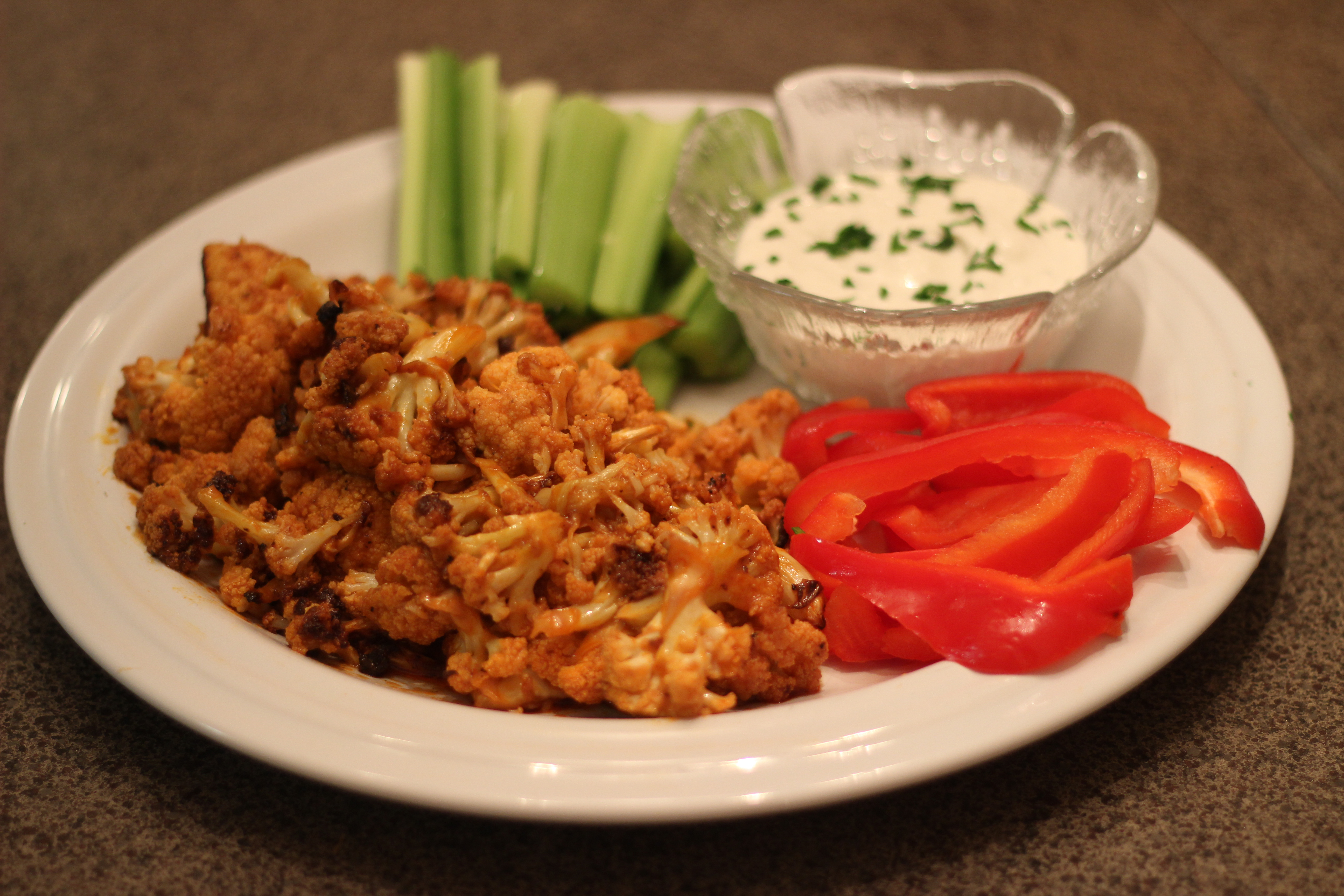 CardioMender, MD diet recipe buffalo cauliflower substitute for buffalo chicken wings