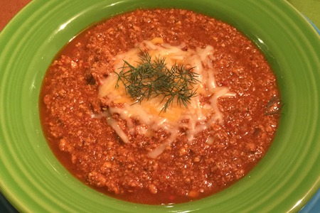 Healthy recipe for Turkey Chili from Diet program CardioMender, MD