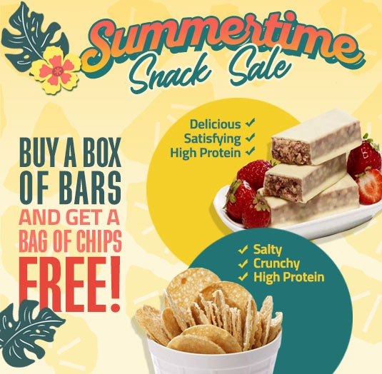 protein bars on sale